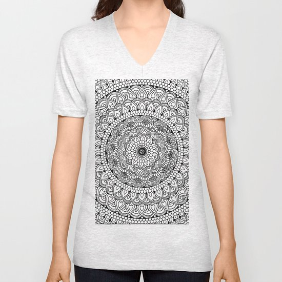 Stress Relief Pattern 12 Unisex V-Neck