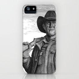 Longmire iPhone Case