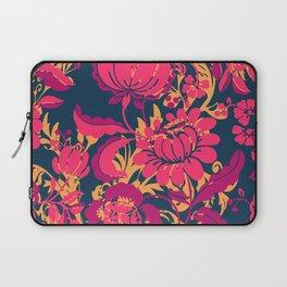 Boho Style No2, Floral pattern Laptop Sleeve