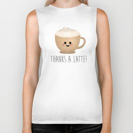 Thanks A Latte Biker Tank