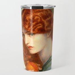 "Dante Gabriel Rossetti ""Proserpine"" Travel Mug"