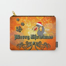 Christmas crow Carry-All Pouch