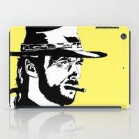 clint barton iPad Cases featuring Clint by Gary Barling
