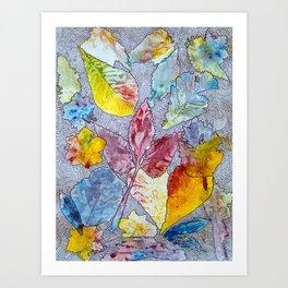 Spring Drawing Meditation Art Print