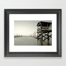Watchtower of Serenity Framed Art Print