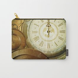 Steampunk, the clocks Carry-All Pouch
