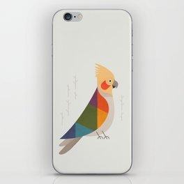Cockatiel iPhone Skin