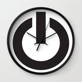 Power on Wall Clock