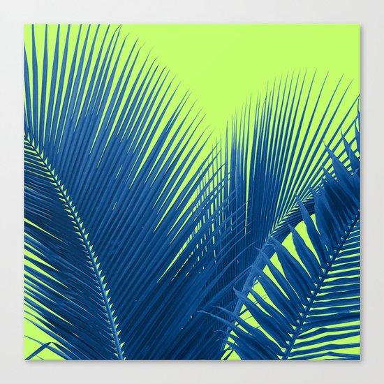 Let's Go Lime Canvas Print