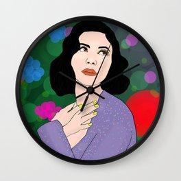 Marina Neon Nature Tour Froot Wall Clock