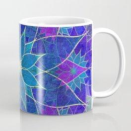Lotus 2 - blue and purple Coffee Mug