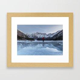 People in Landacape 03 Framed Art Print