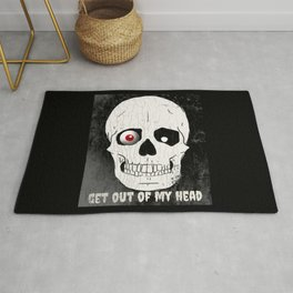 Get Out Of My Head Rug