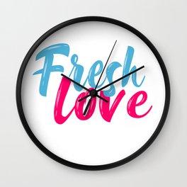 Fresh Love Wall Clock