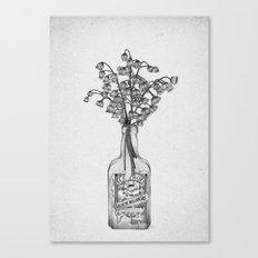 Les Fleurs IV Canvas Print