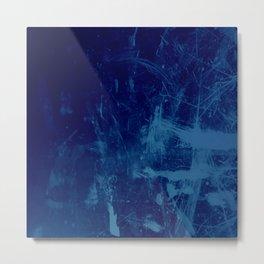 Painter's Blues Metal Print