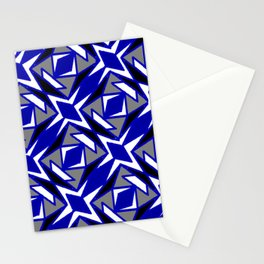 Martial Arts Karate Feng Shui Funky Shapes Stationery Cards
