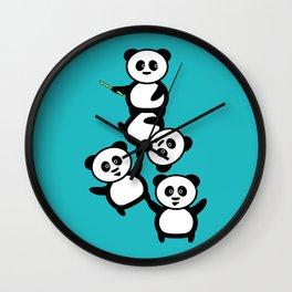Cirque du panda Wall Clock