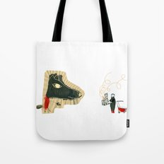 The seven little goats Tote Bag