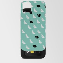 Flock of pigeons iPhone Card Case
