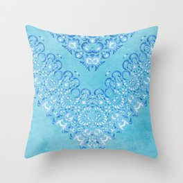 Floral Fairy Tale 2 Throw Pillow