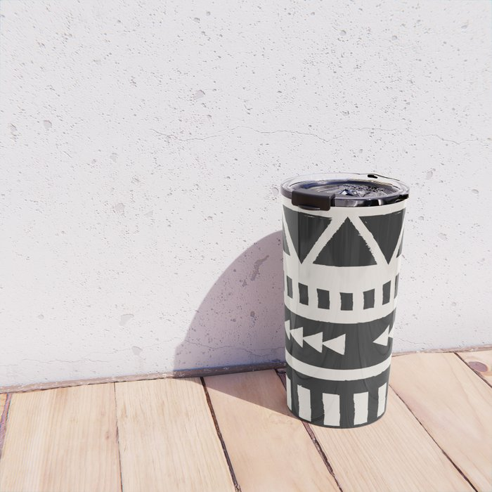 Boho style pattern Travel Mug