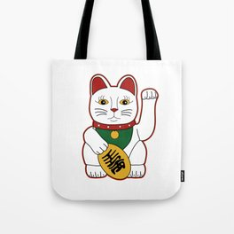 Maneki Neko - lucky cat Tote Bag