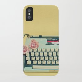 The Typewriter iPhone Case