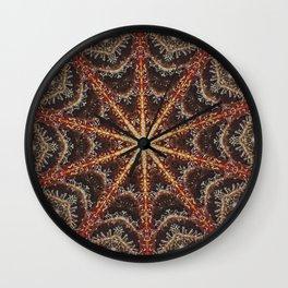 Crystal Web Wall Clock
