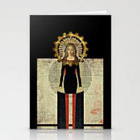 madonna Stationery Cards featuring Renaissance Madonna by Studio Judith
