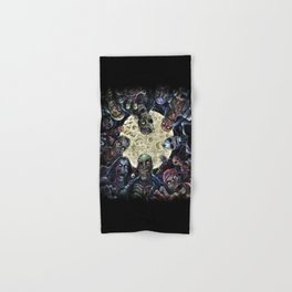 Zombies attack (zombie circle horde) Hand & Bath Towel