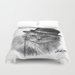 Monsieur Mack Duvet Cover