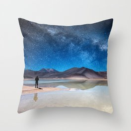 Piedras Rojas, Atacama Throw Pillow