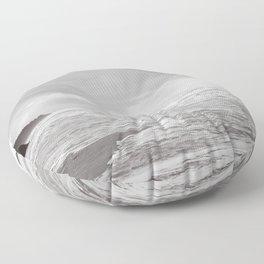 Foggy Coast Floor Pillow