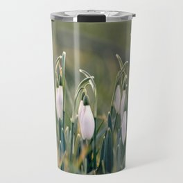 snow drops Travel Mug