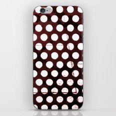 Metal Dots iPhone & iPod Skin