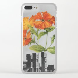 "255 - ""a tree grows in Brooklyn"" Clear iPhone Case"