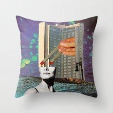 Laboratorio 84 Throw Pillow