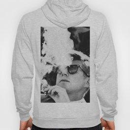 Cigar Smoker Cigar Lover JFK Gifts Black And White Photo T Shirt Hoody