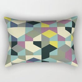 Abstract Geometric Artwork 53 Rectangular Pillow