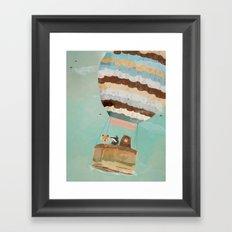 a little wondrous adventure Framed Art Print