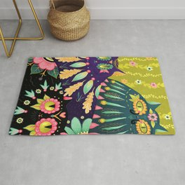 Day of the Dead Cats Rug