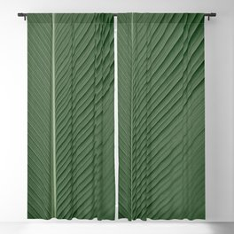 Green Banana Leaf Blackout Curtain