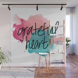 Grateful Heart Wall Mural