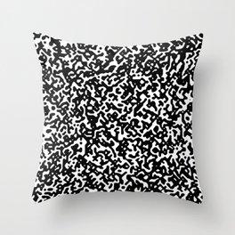 noisy pattern 14 Throw Pillow