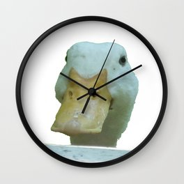Peeking Duck Vector Wall Clock