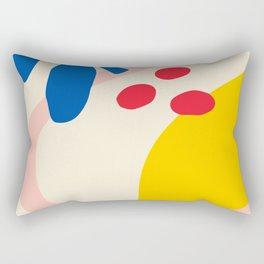 Henri Matisse inspired leaf lemon Rectangular Pillow