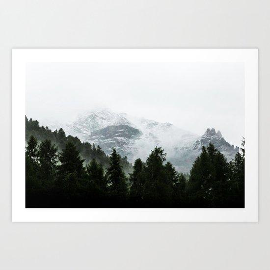 The Way Through The Woods Art Print