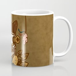 Steampunk Kitty Coffee Mug