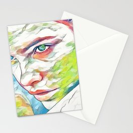 Barbara Palvin (Creative Illustration Art) Stationery Cards